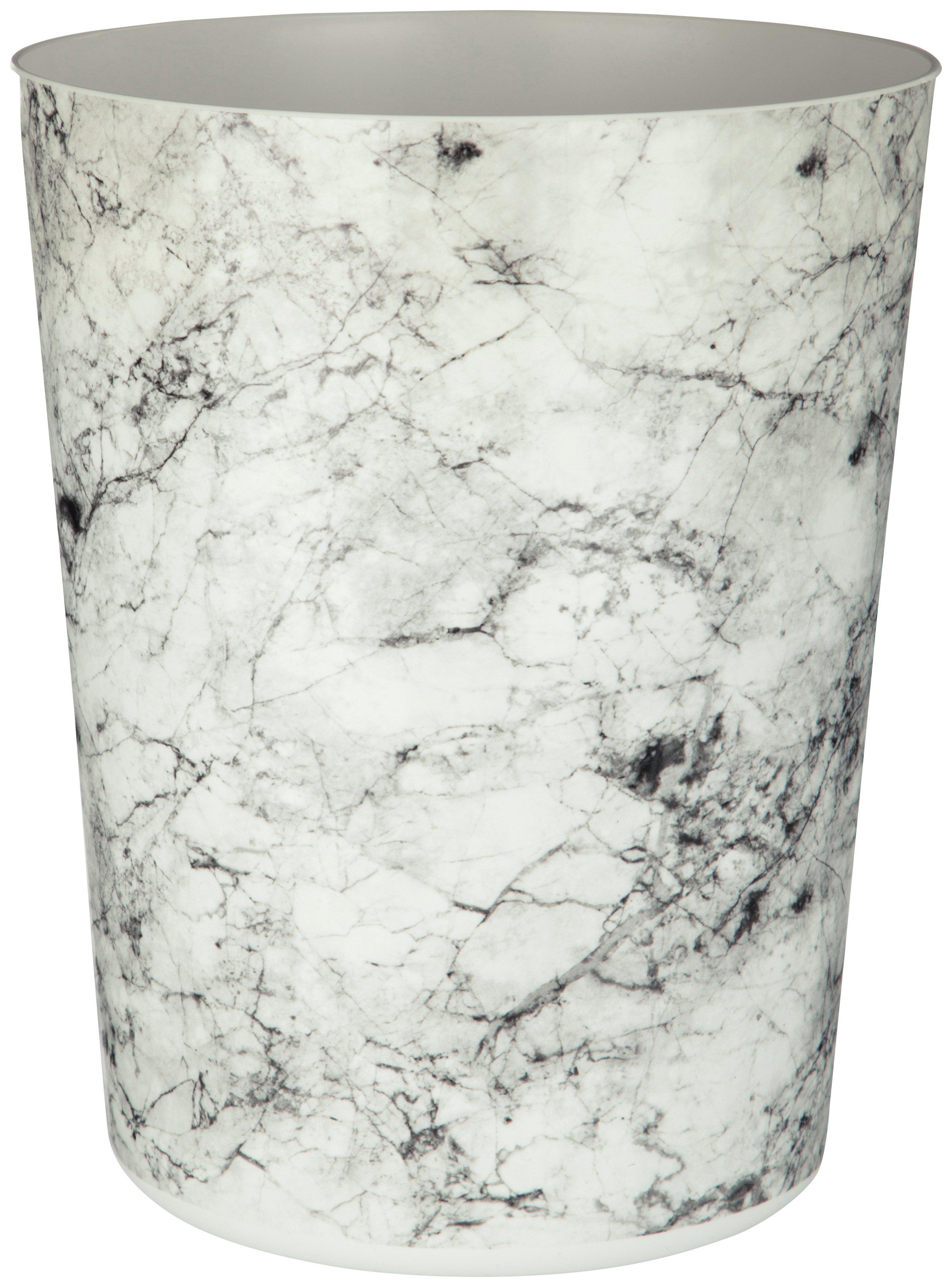 Rome Marble Effect Waste Bin