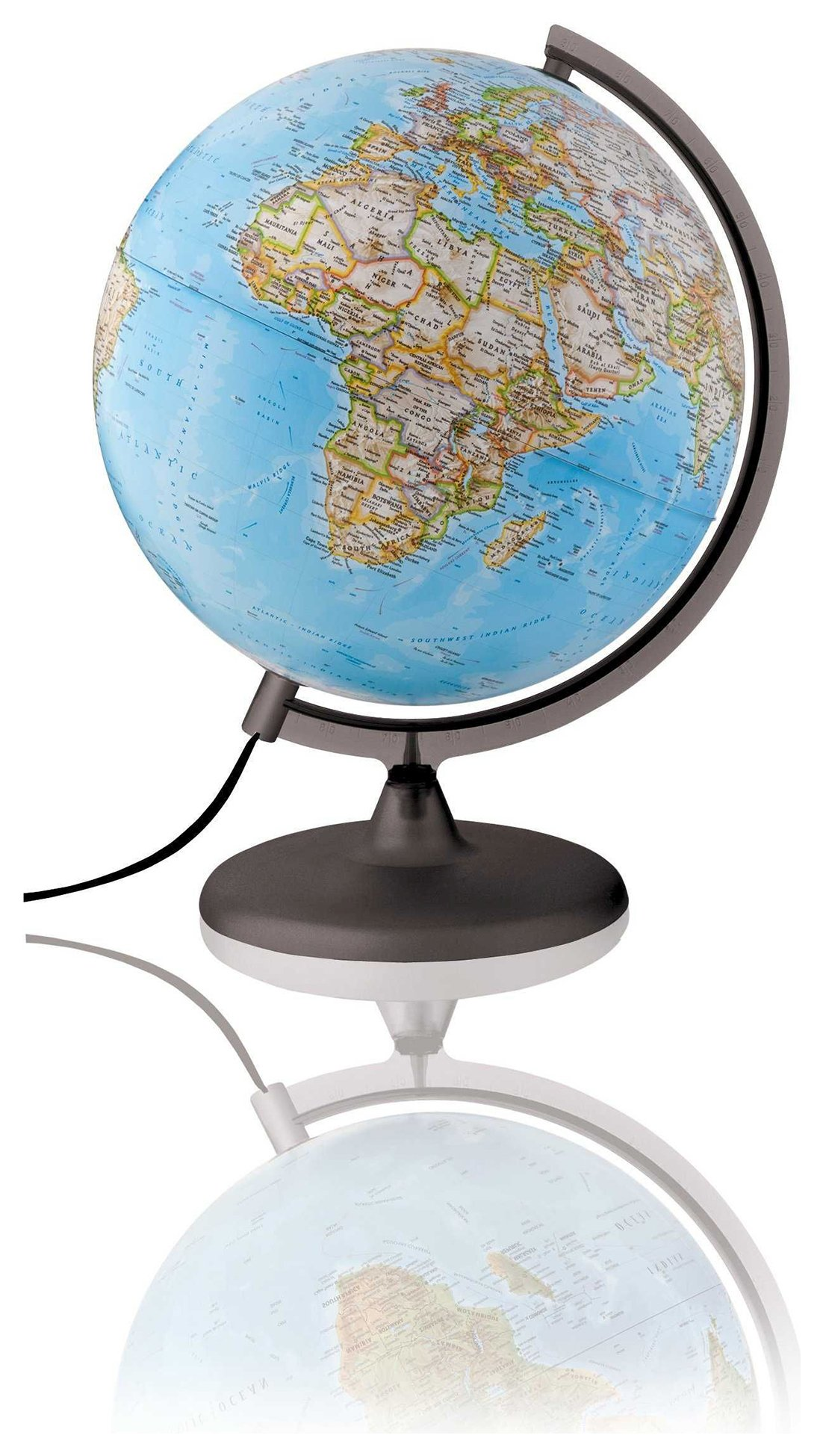 National Georgraphic Classic Illuminated Globe - 25 cm.