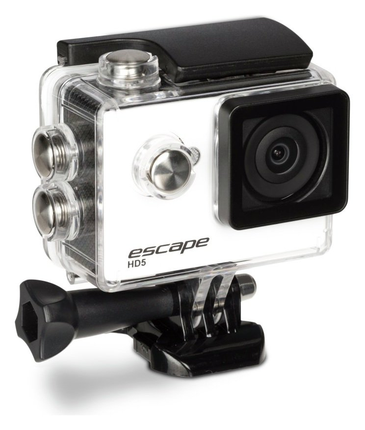 KitVision Kitvision Escape HD5 720p WiFi Action Camera - White.