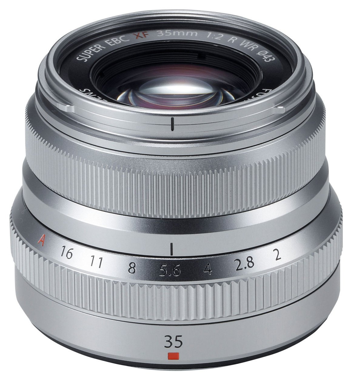 Image of Fujifilm - XF 35mm Silver Lens