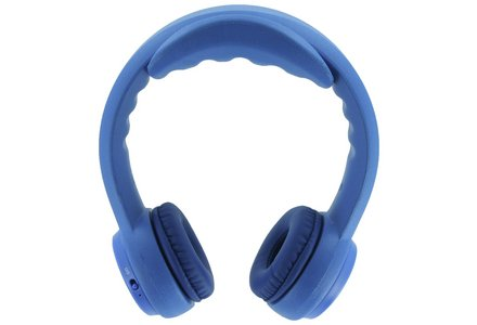 Image of the Headfoams HF-BT100 Kids Bluetooth On Ear Headphones - Blue.