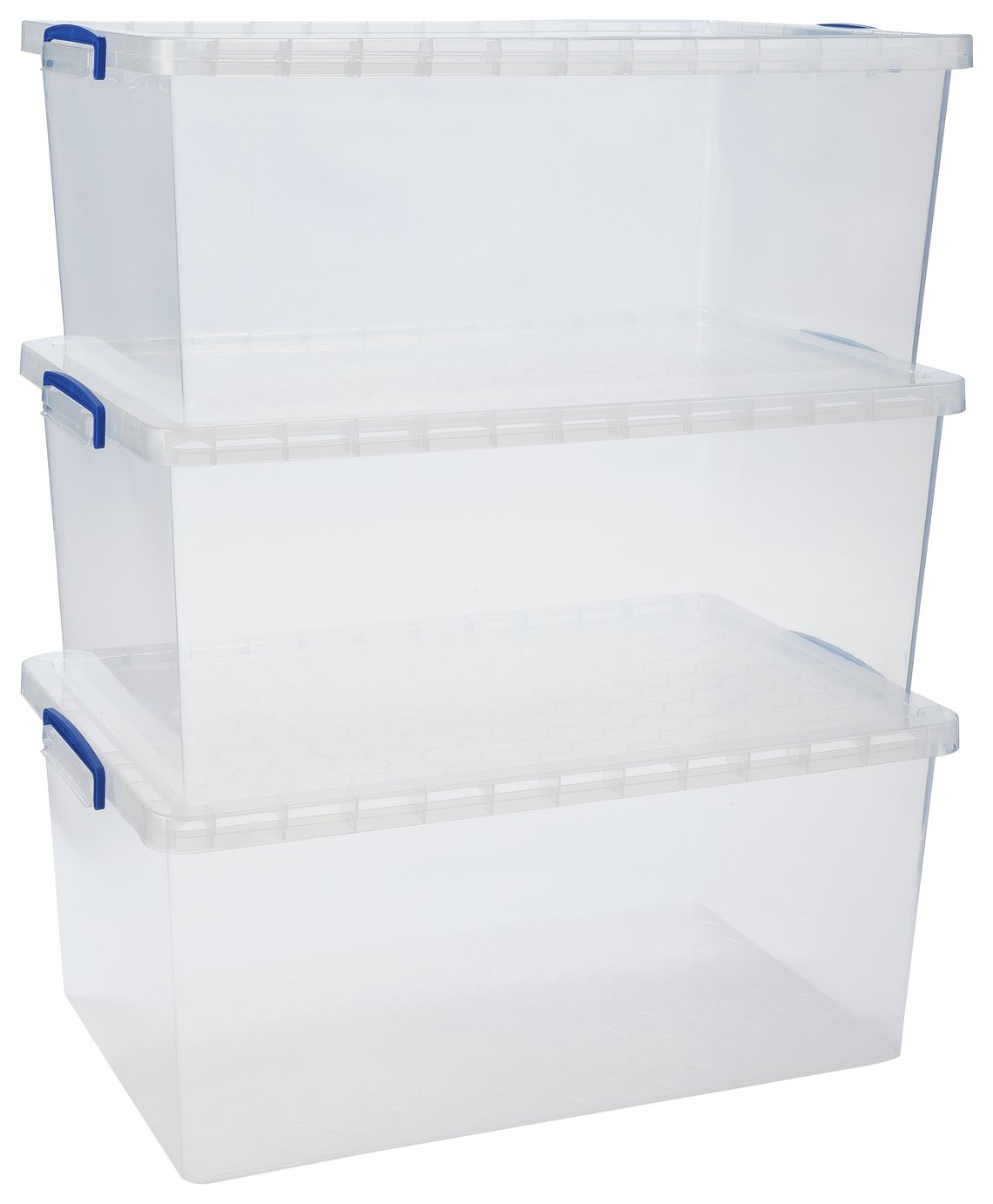 Really Useful 62 Litre Nesting Boxes - Set of 3