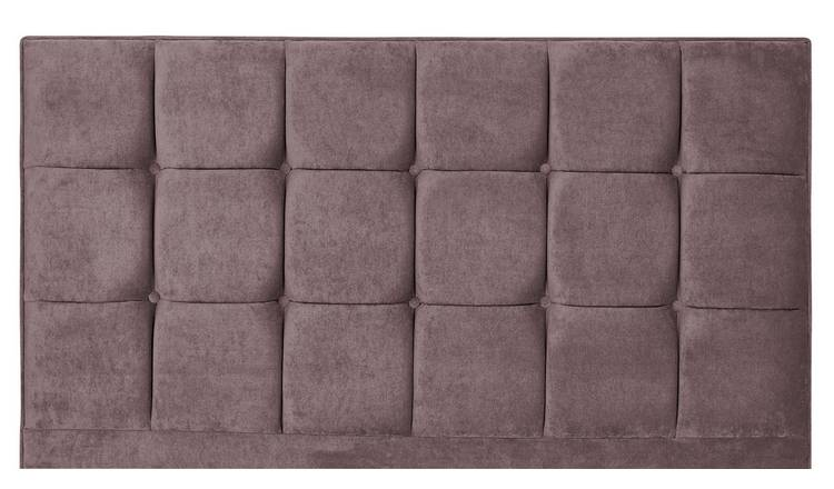 Forty Winks Floor Stand Double Headboard - Mauve