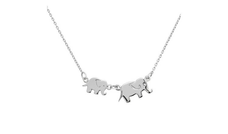 Children Sterling Silver Bird Sign Charm Necklace 14 Inches Chain