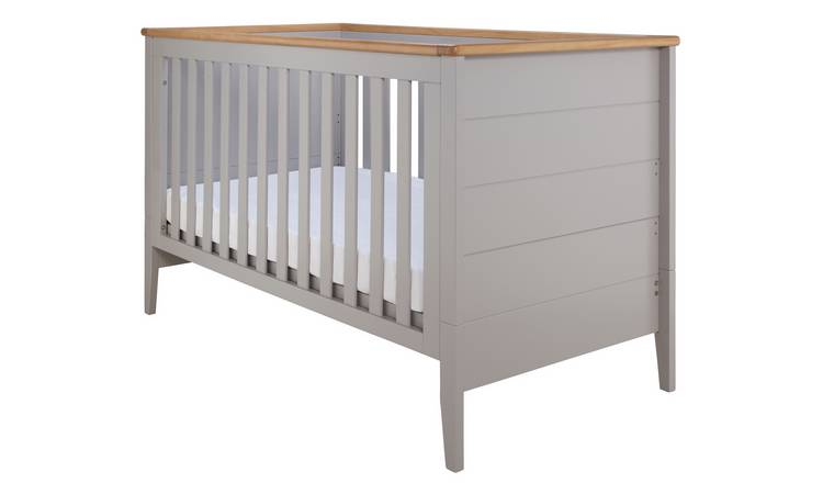 Cuggl Canterbury Baby Cot Bed - Grey