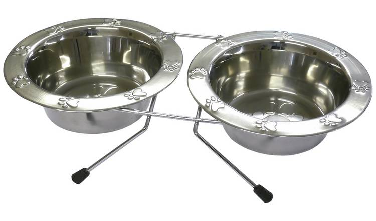Rosewood Paw Double Diner - Small