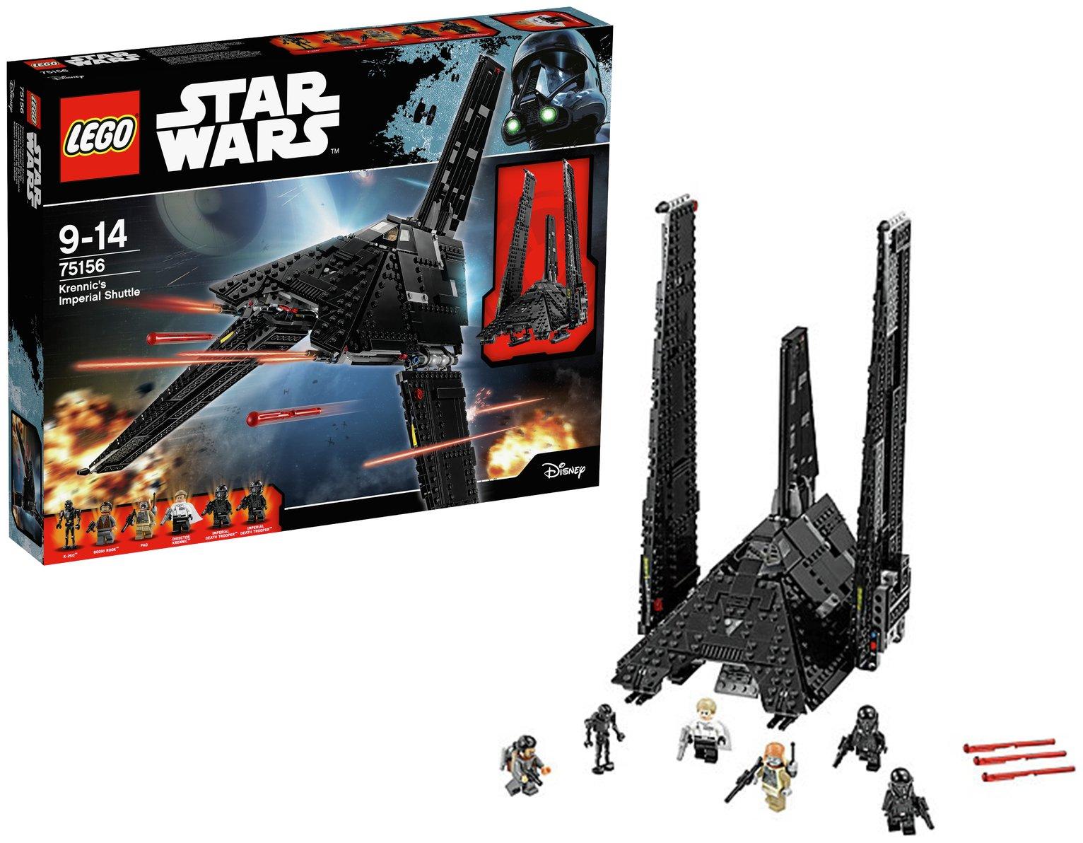 Image of LEGO - Star Wars - R1 Krennics Imperial Shuttle- 75156