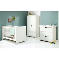 Mamas & Papas Rocco 3 Piece Furniture Set - White