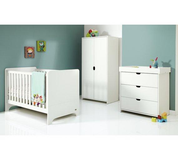 Mamas   Papas Rocco 3 Piece Furniture Set   White. Buy Mamas   Papas Rocco 3 Piece Furniture Set   White at Argos co