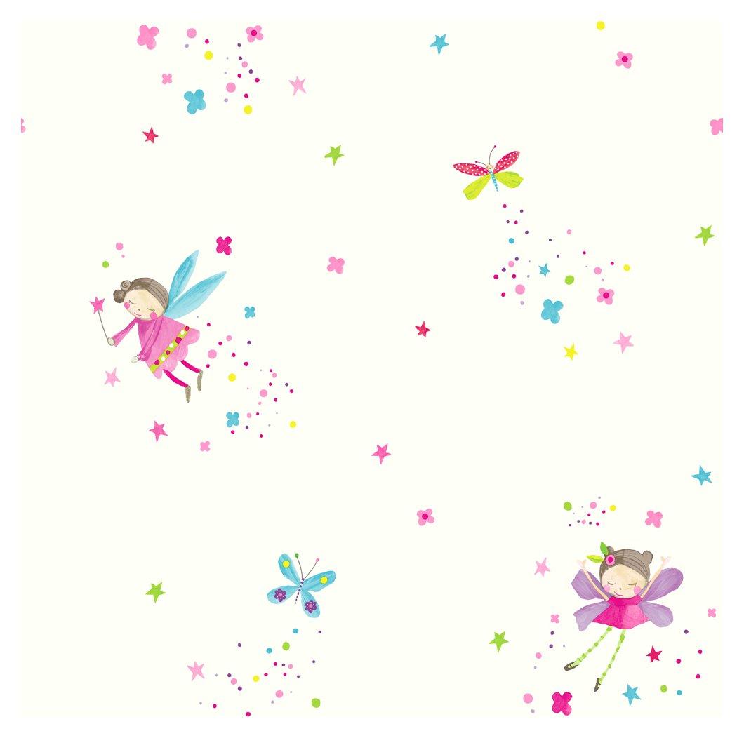 Image of Arthouse Imagine Fun Fairy Dust White Wallpaper.