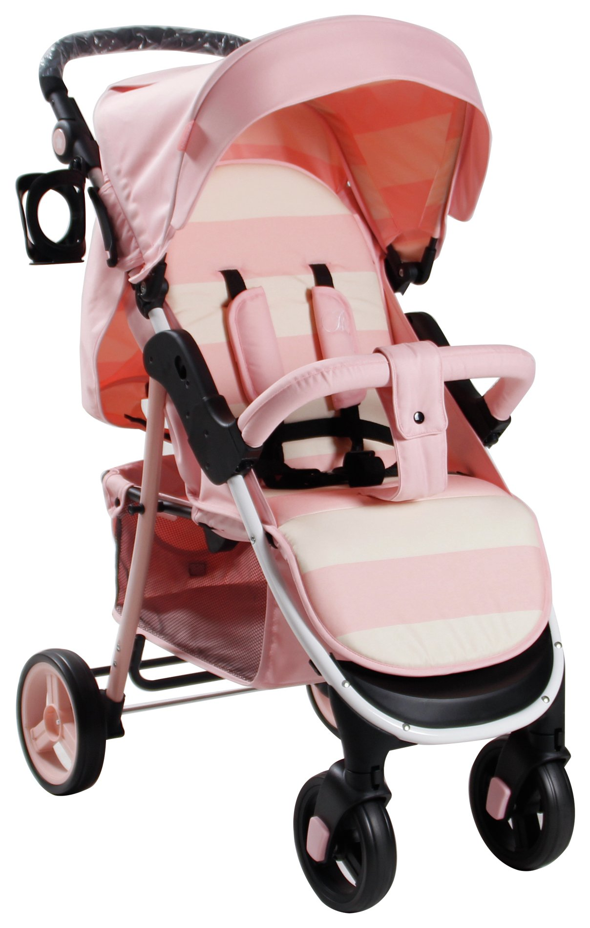 My Babiie Billie Faiers MB30 Pink Stripe Pushchair. review