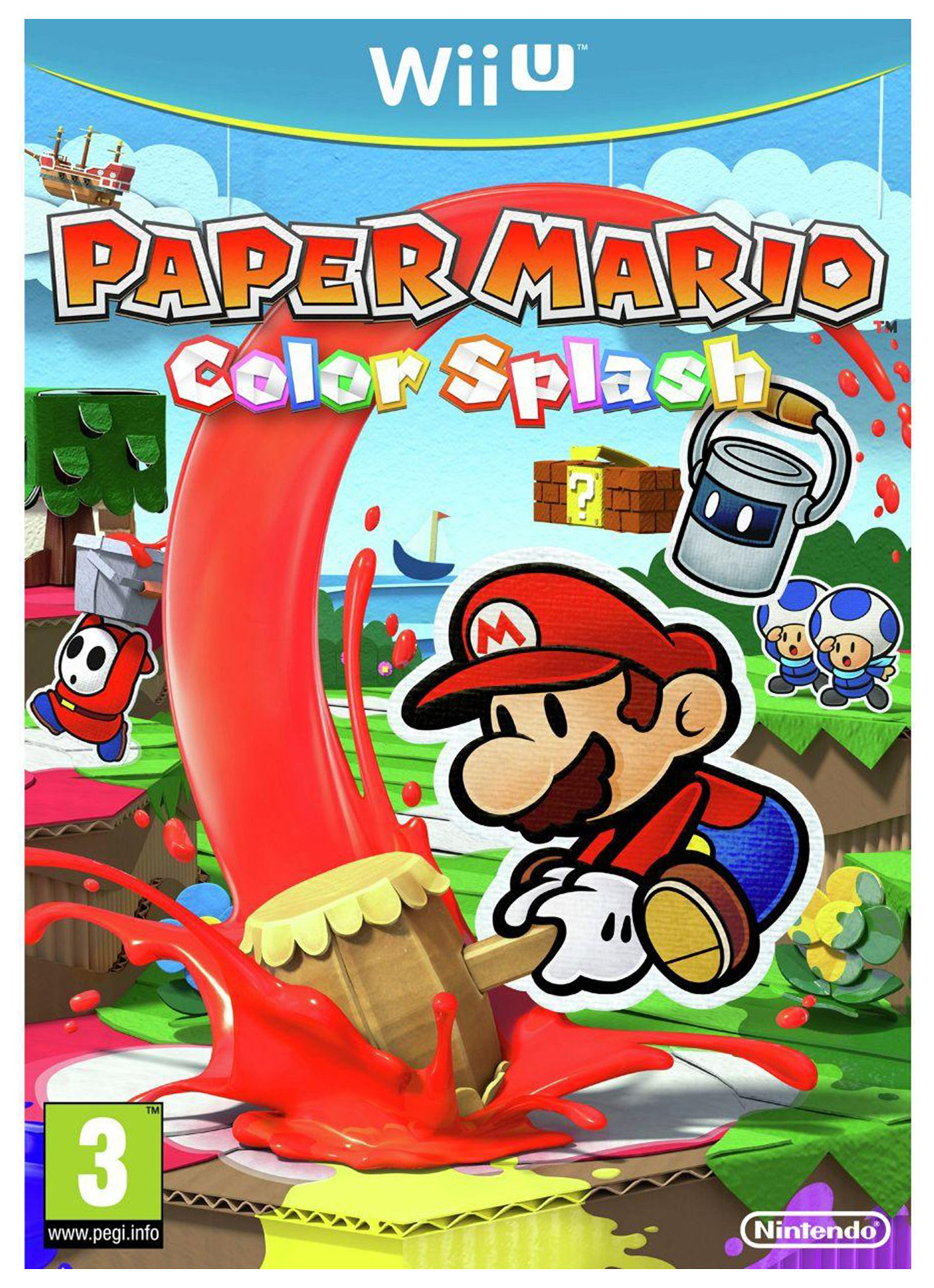 Nintendo Paper Mario - Colour Splash - Nintendo - Wii U Game