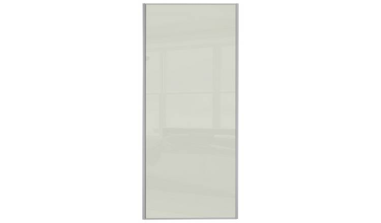 Sliding Glass Wardrobe Door W914mm - Arctic White
