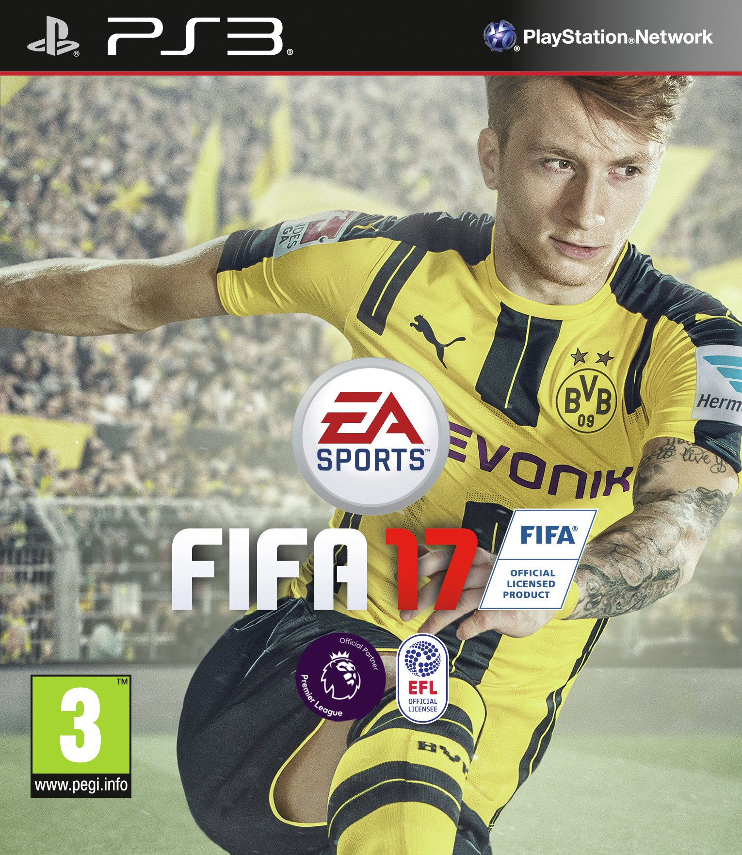 Image of FIFA 17 - PS3 Game