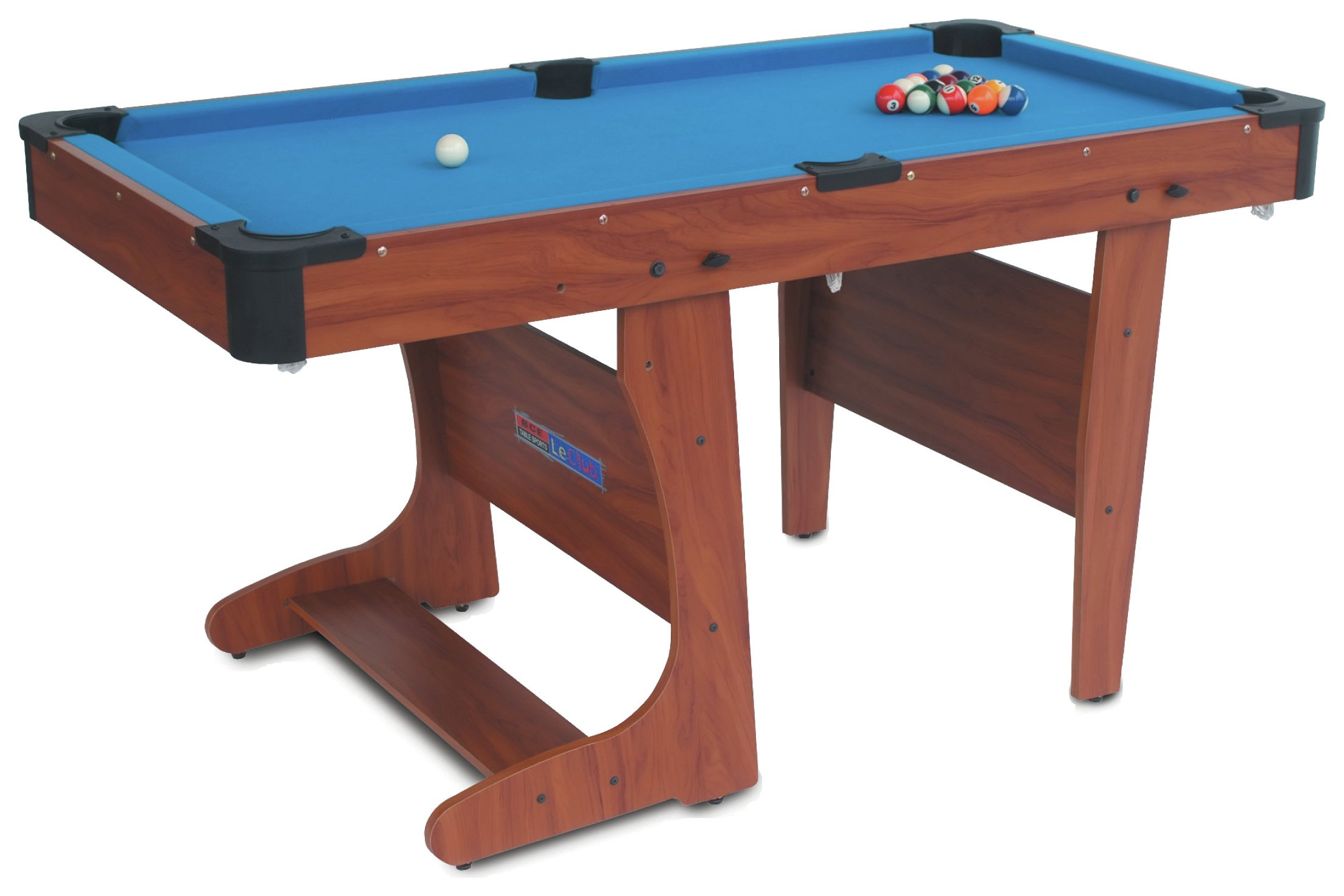 'Bce 6ft Clifton Folding Pool Table.