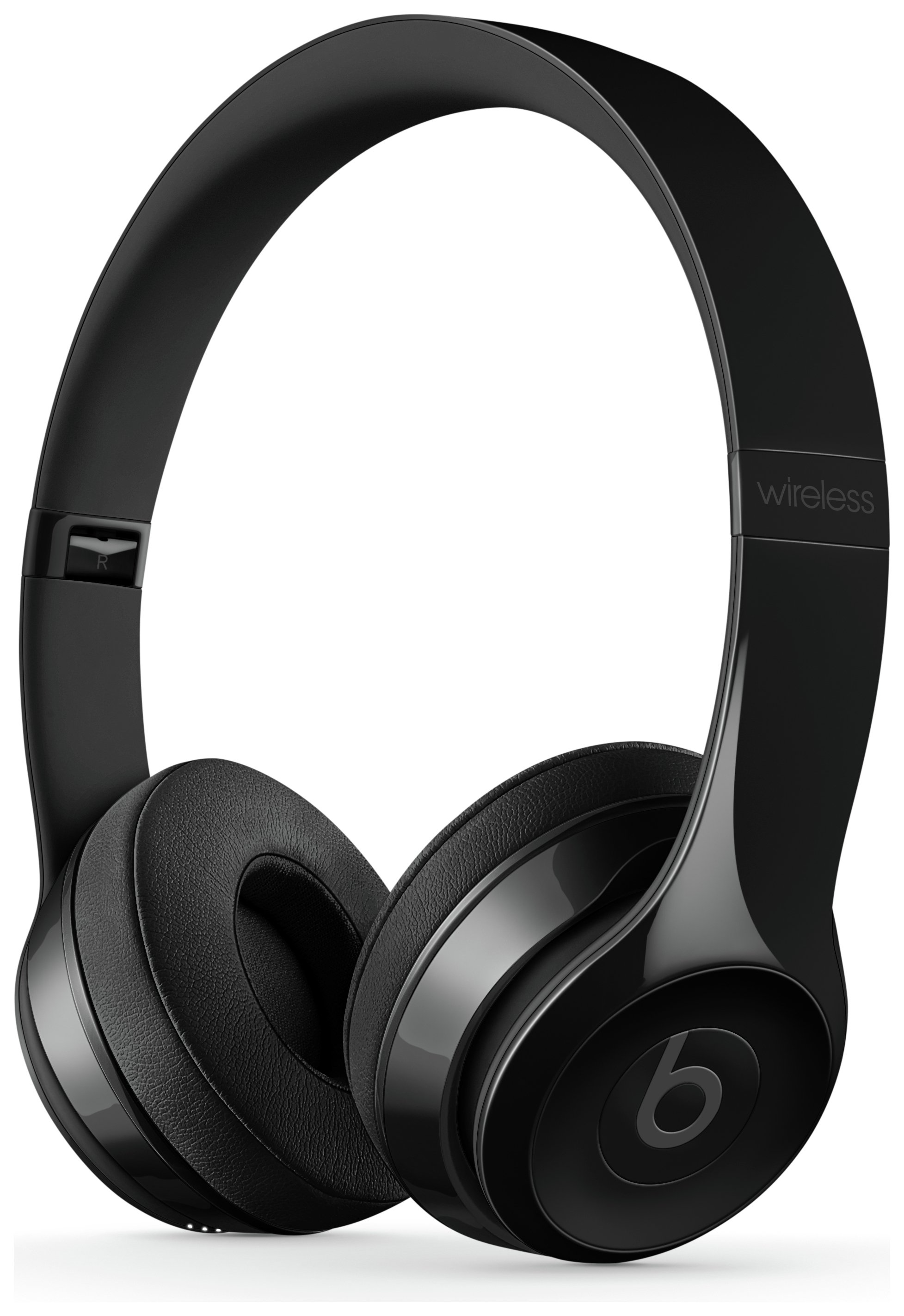 Beats by Dre Solo 3 On-Ear Wireless Headphones - Gloss Black