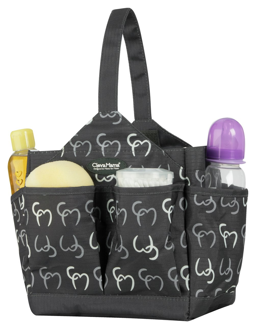 Image of Clevamama - Alessia Baby Change Caddy - Asphalt
