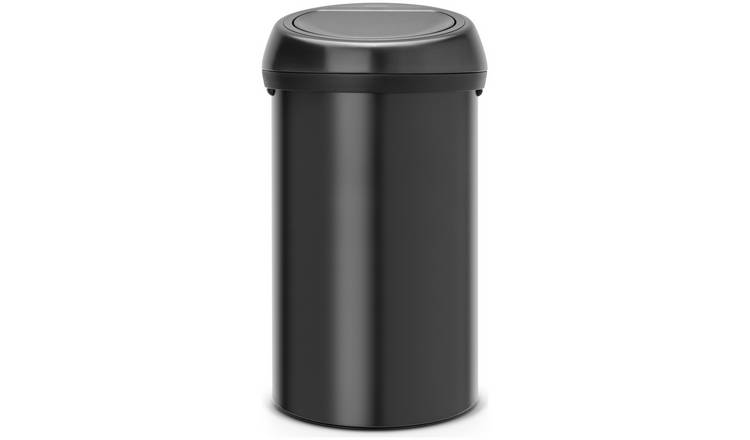 Brabantia 60 Litre Touch Top Bin - Matt Black