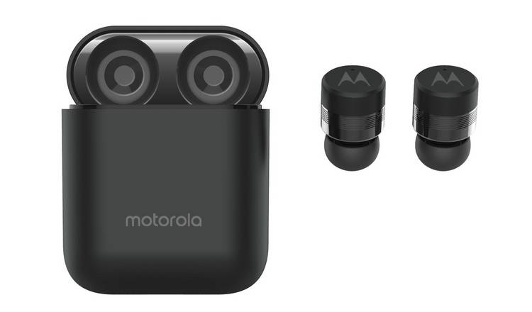 Motorola Verve 110 In-Ear True Wireless Earbuds - Black