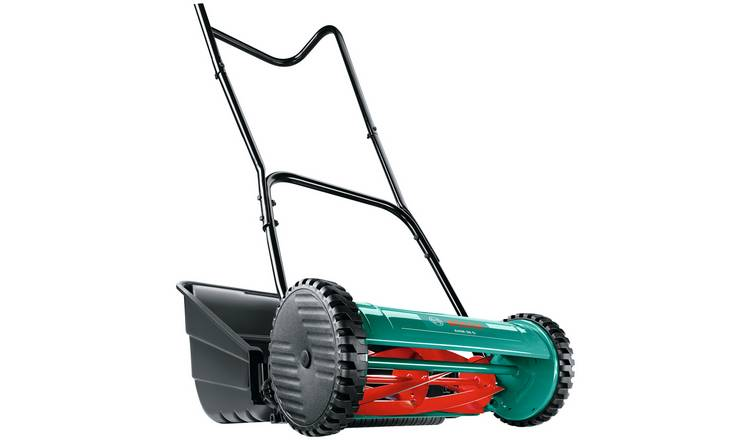 Bosch AHM38G 41cm Hand Push Cylinder Lawnmower