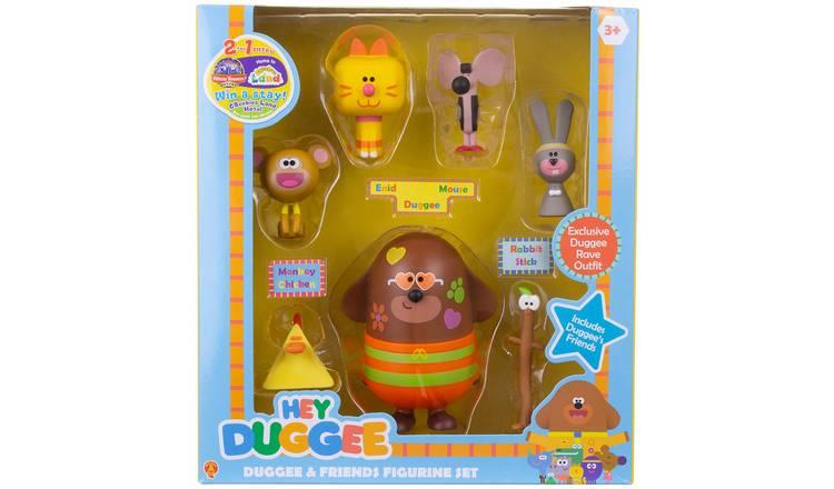 HEY DUGGEE DUGGEE /& Friends Figurine Set New