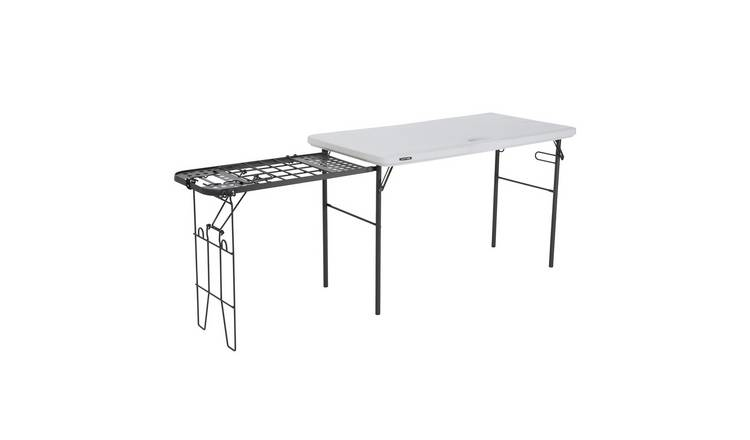 Lifetime Tailgate Table 48IN - White