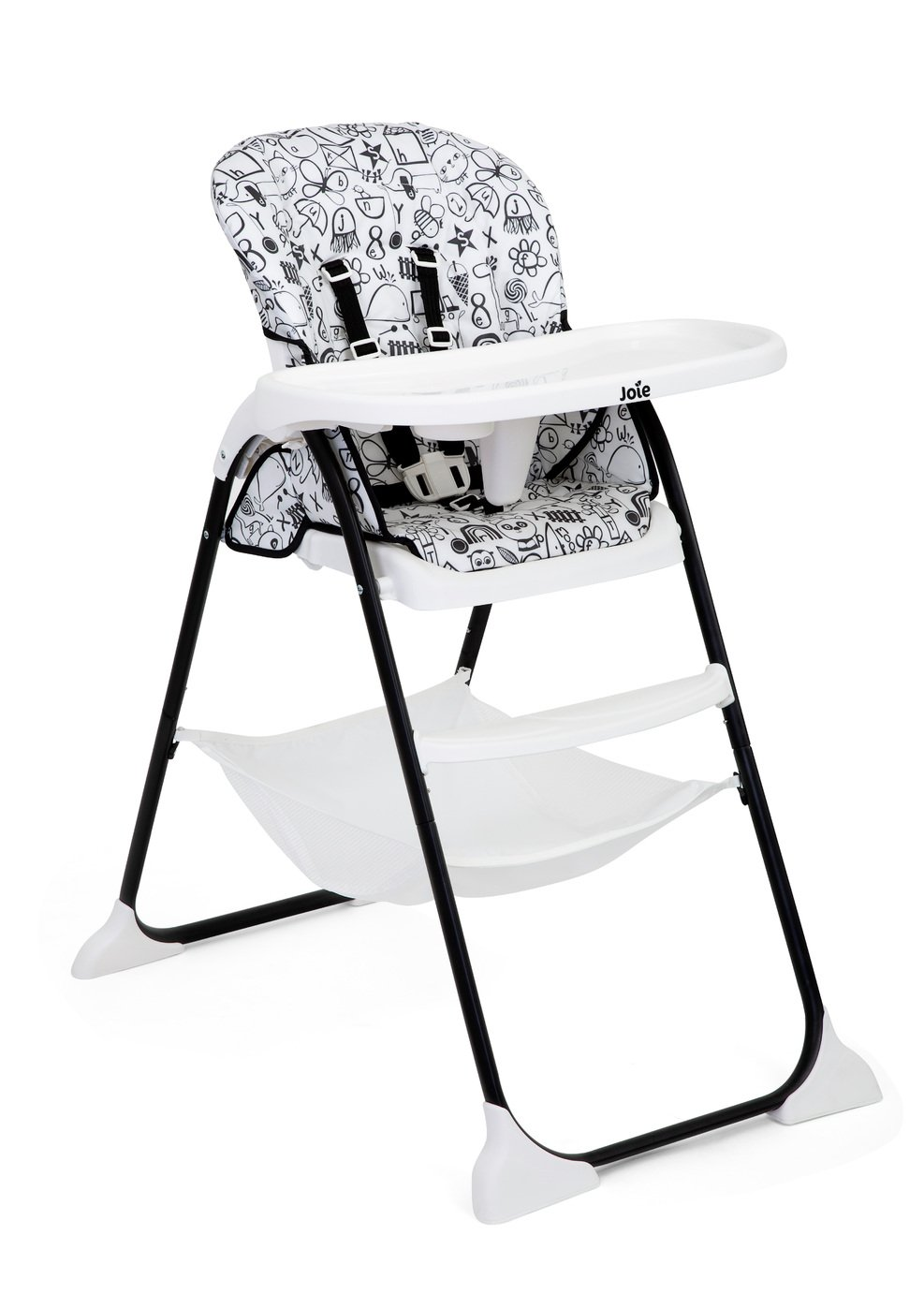 Image of Joie Mimzy Snacker Highchair - Alphabet Soup