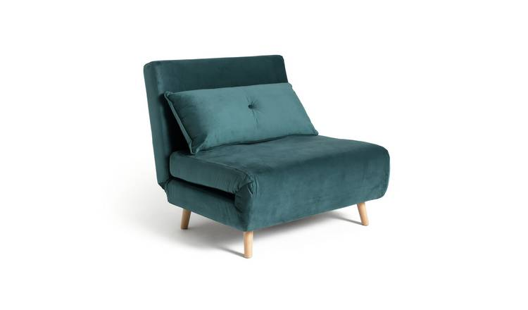 Argos Home Roma Fabric Chairbed - Teal