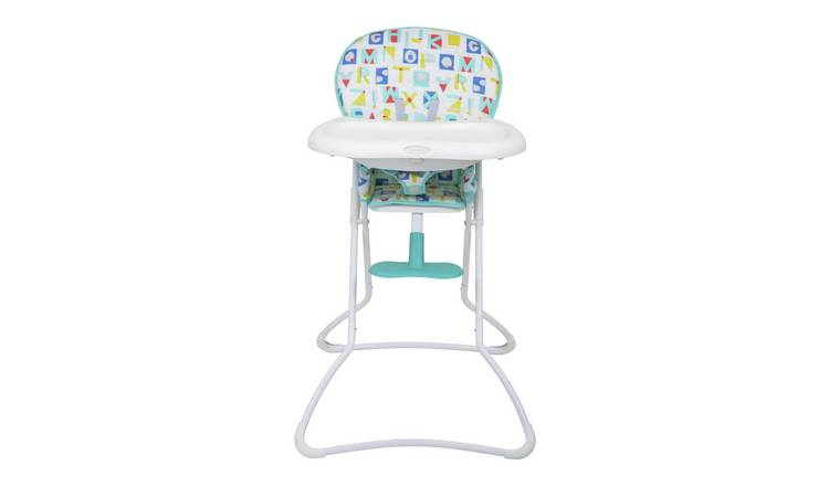 Graco Snack N Stow Highchair - Alphabet