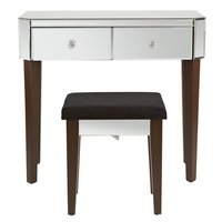 Home of Style Leonessa Dressing Table with Stool
