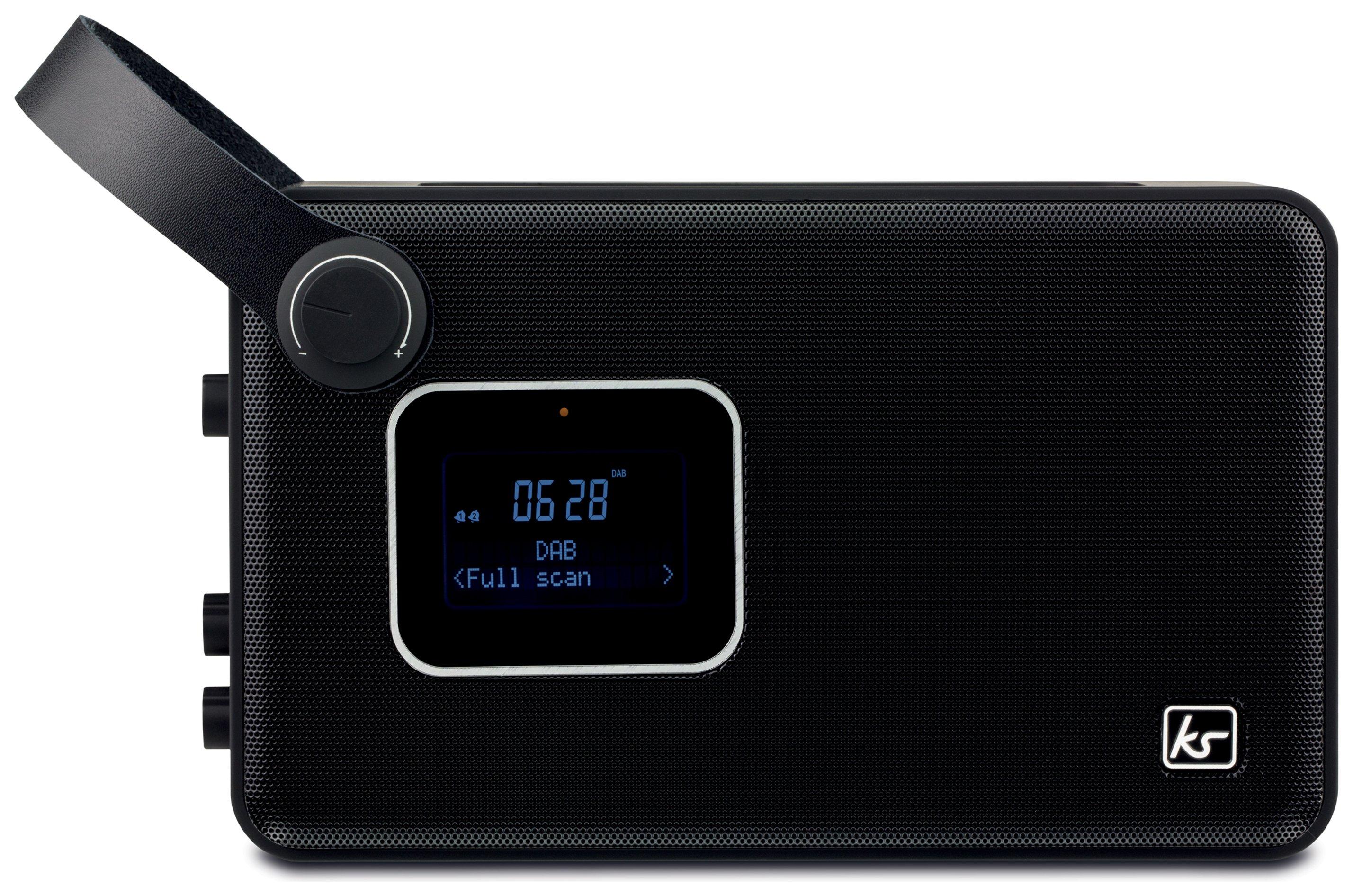Kitsound - Air DAB Radio - Black - Get Best Price .co.uk Get Best Price .co.uk