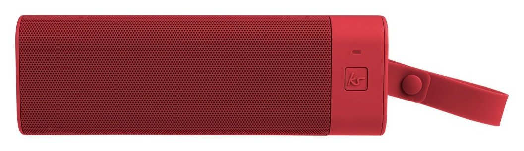 Kitsound - BoomBar+ Bluetooth Speaker - Red