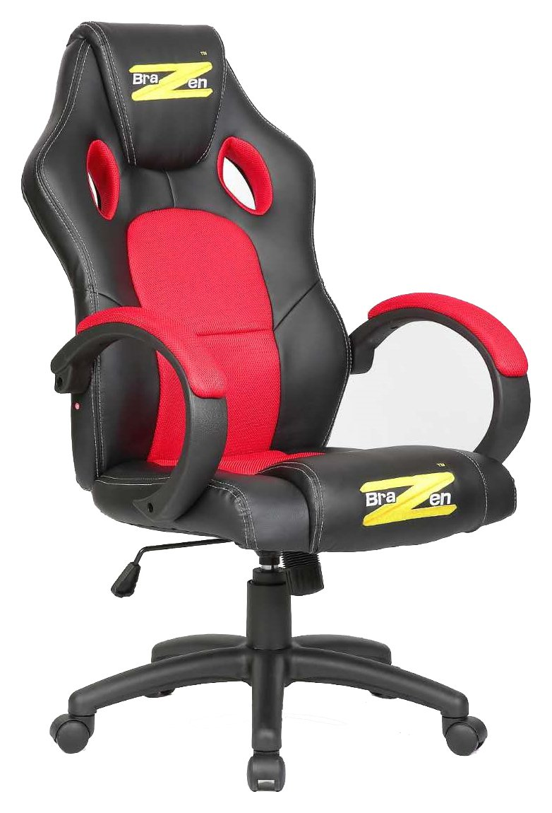 Black Red Gaming Chair