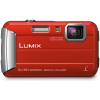Panasonic FT30 16MP Waterproof Camera - Red