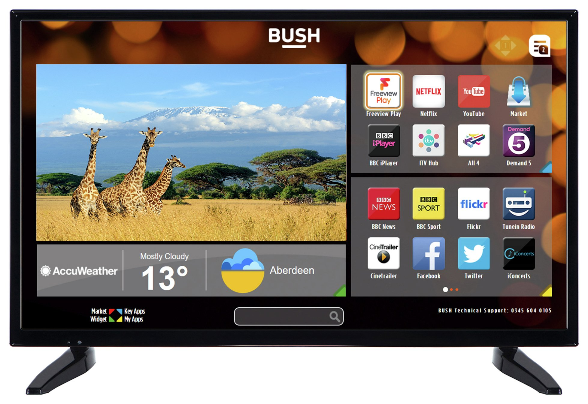 Bush 32 Inch HD Ready Smart TV
