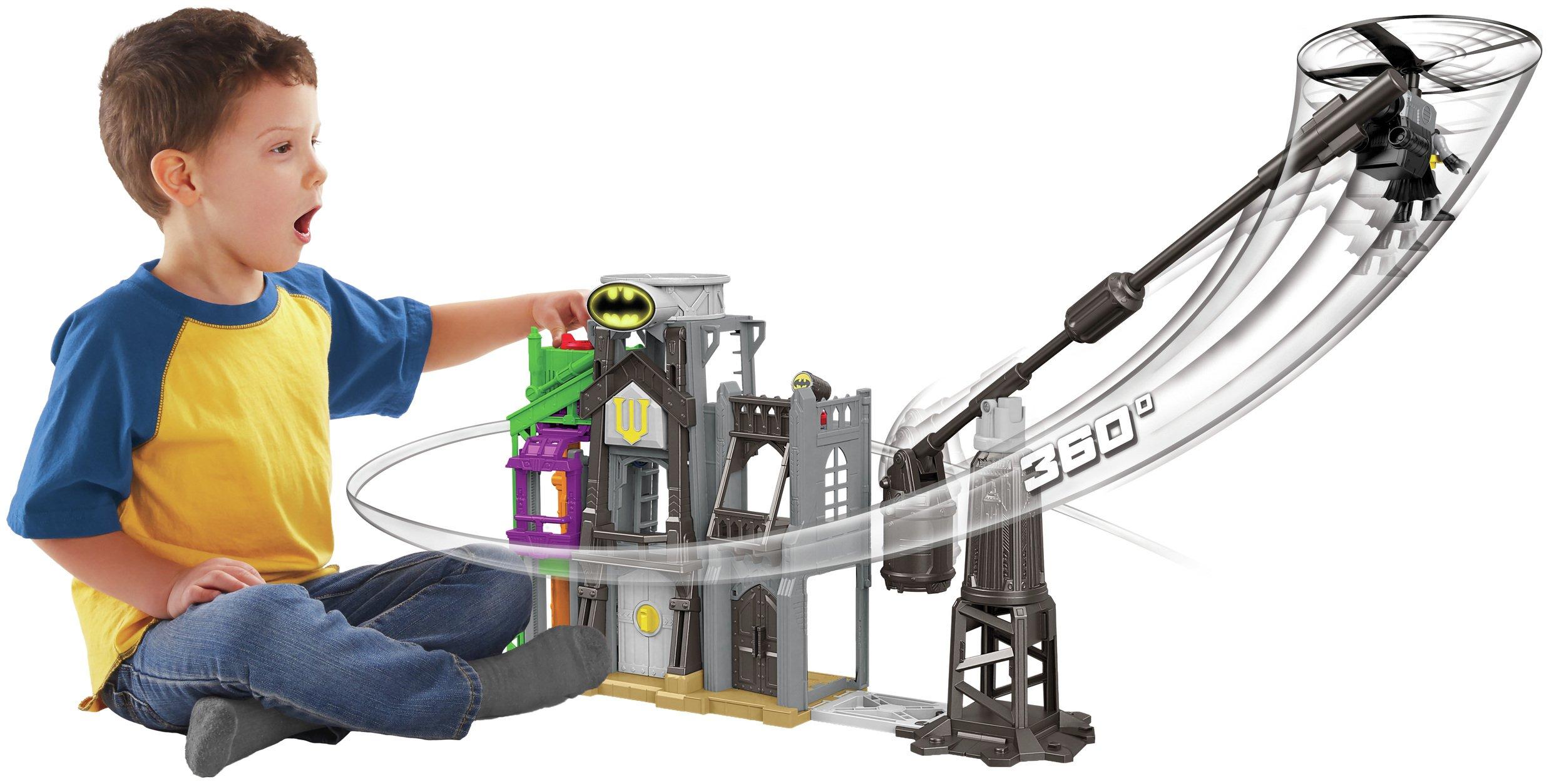 Image of Imaginext DC Super Friends Super Hero Flight Gotham City