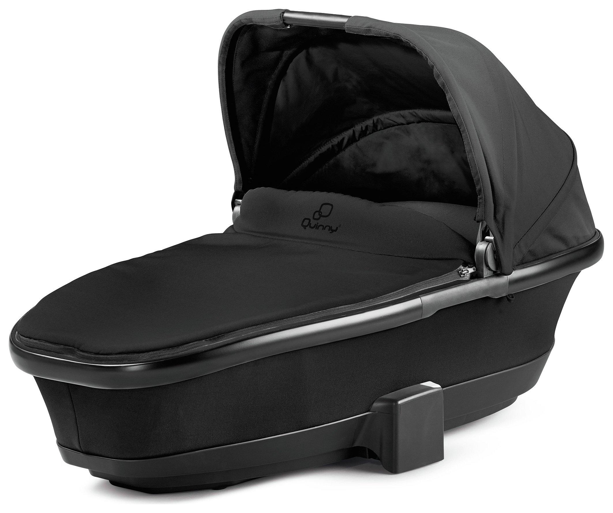 Quinny Foldable Carrycot - Black Devotion
