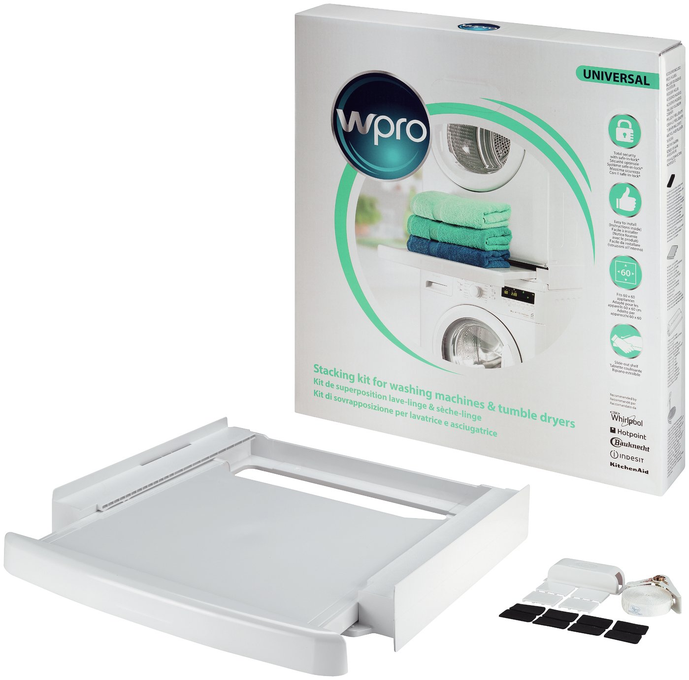 Wpro Tumble Dryer Universal Stacking Kit