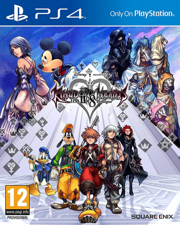 Kingdam Hearts HD 2.8 Final Chapter Prologue PS4 Game.