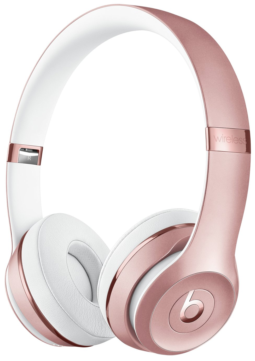 Image of Beats by Dre Solo 3 On-Ear Wireless Headphones - Rose Gold