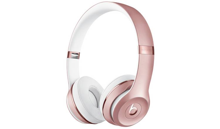 Buy Beats by Dre Solo 3 On-Ear Wireless Headphones - Rose Gold | Headphones  and earphones | Argos