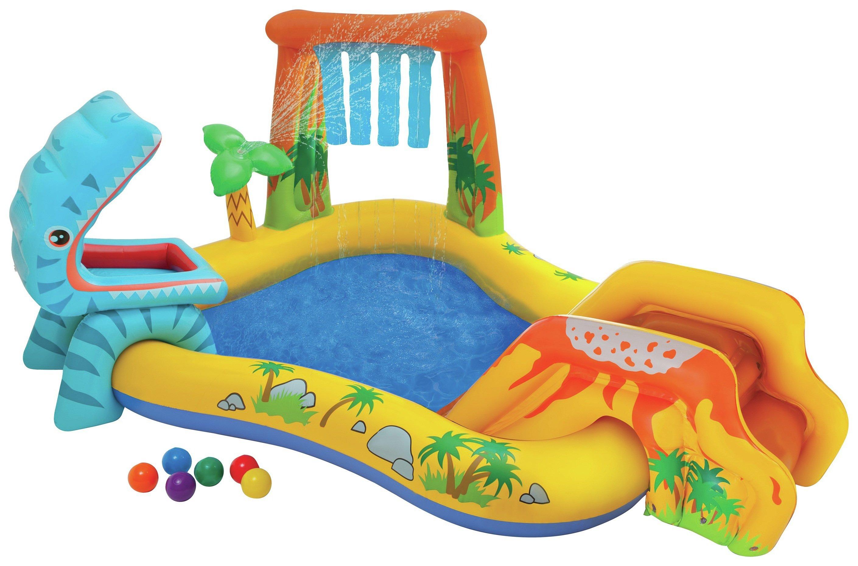 Intex Dinosaur Play Centre Paddling Pool - 8ft - 216 Litres.
