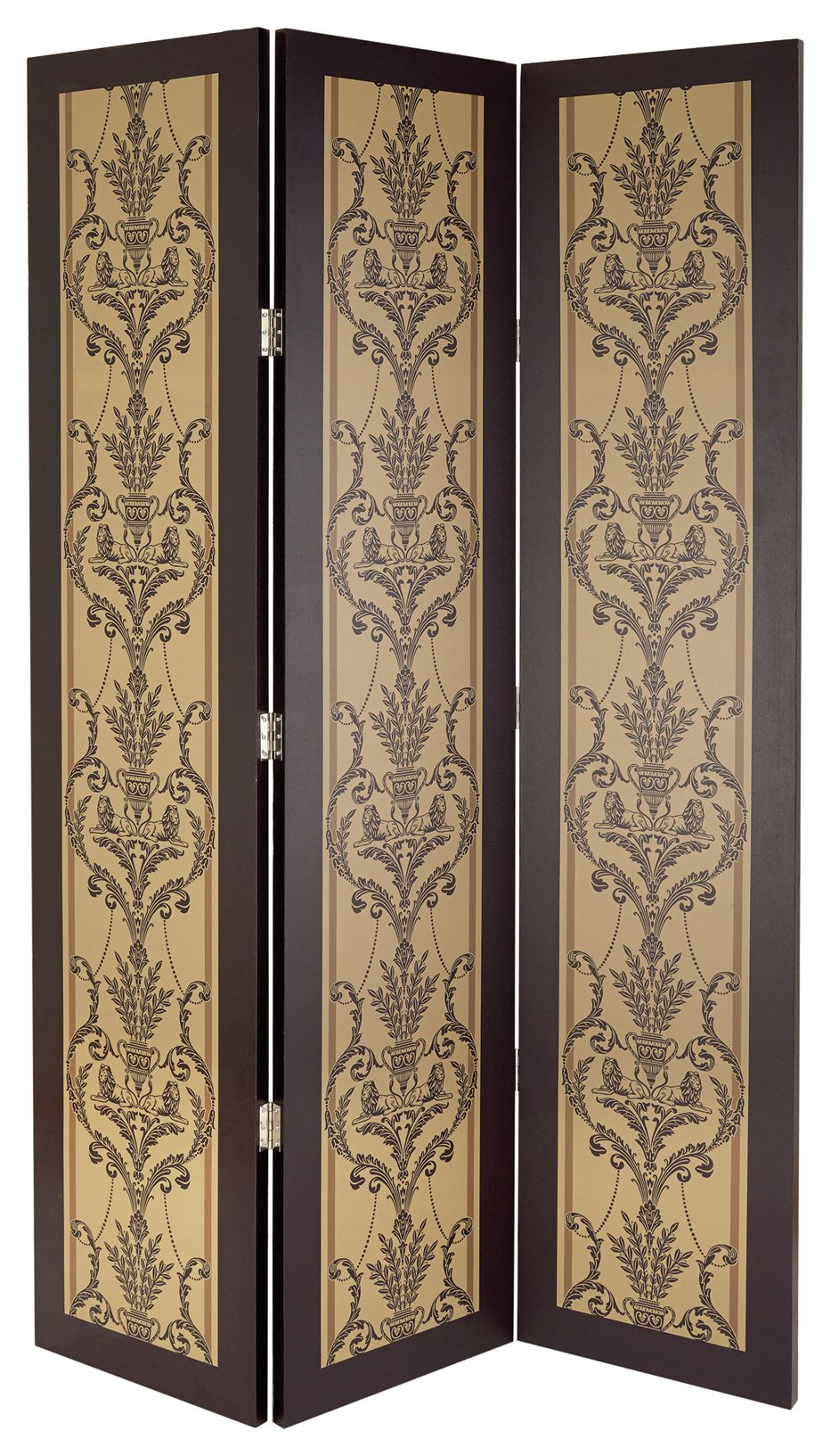 Image of Arthouse Boutique Leonardo Gold Rush Room Divider.