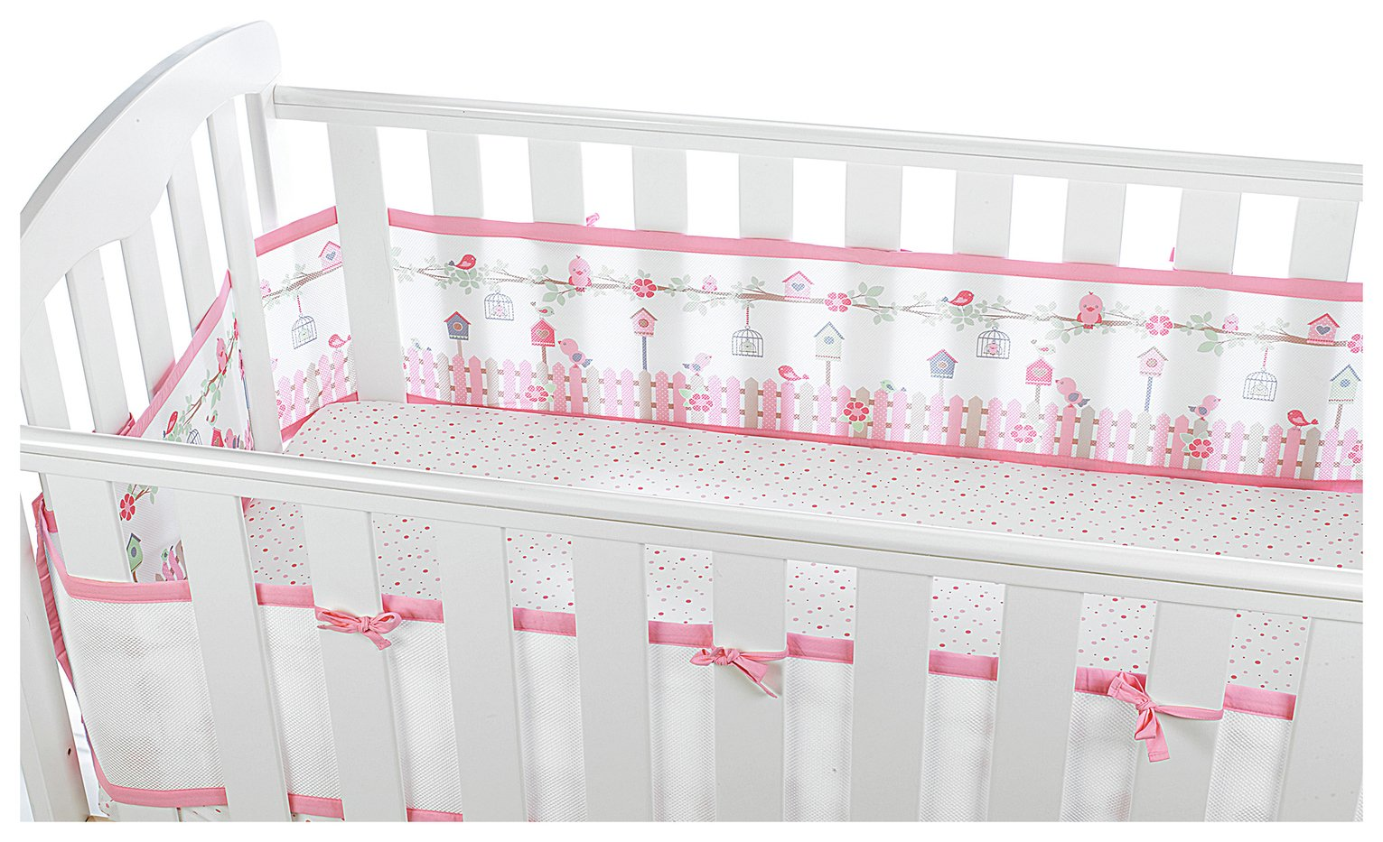 Image of BreathableBaby - Full wrapesh Liner - English Garden