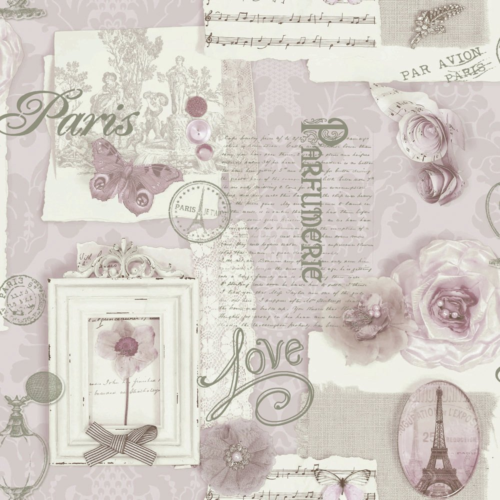 arthouse v.i.p felicity soft pink wallpaper.
