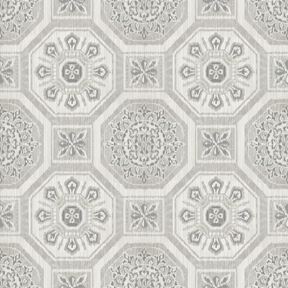 Image of Arthouse Imagine Brasillia Grey Wallpaper.