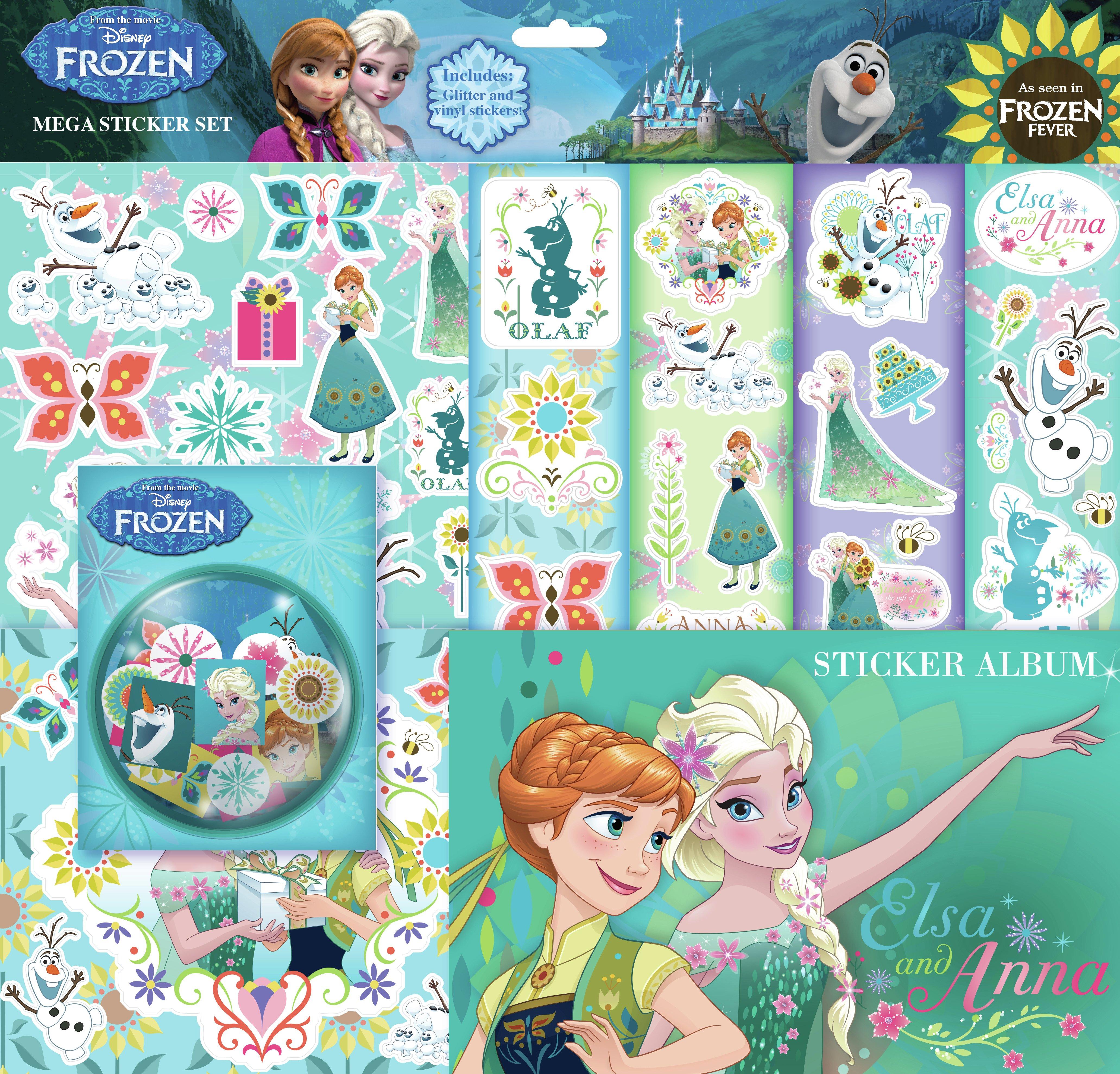 Image of Disney - Frozen Jumbo Sticker Gift Collection