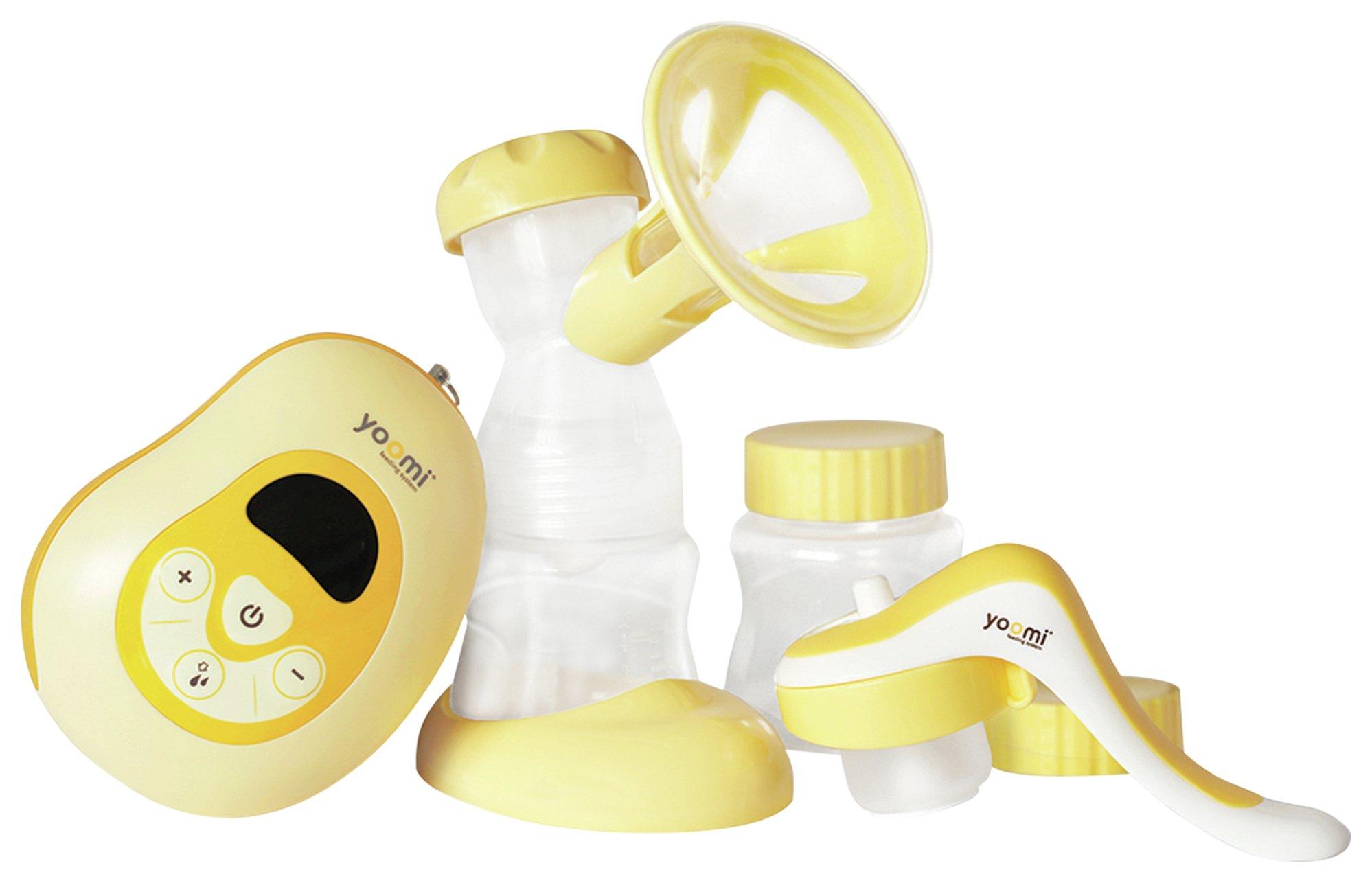 Yoomi 3 In 1 Easy Express Breast Pump