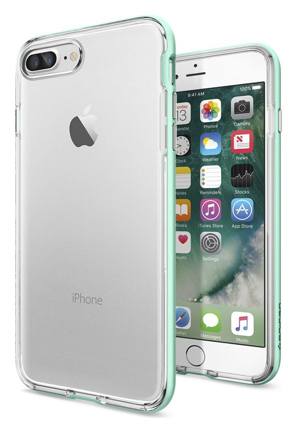 Spigen Spigen Neo Hybrid Crystal Apple iPhone 7 Plus Case - Green.
