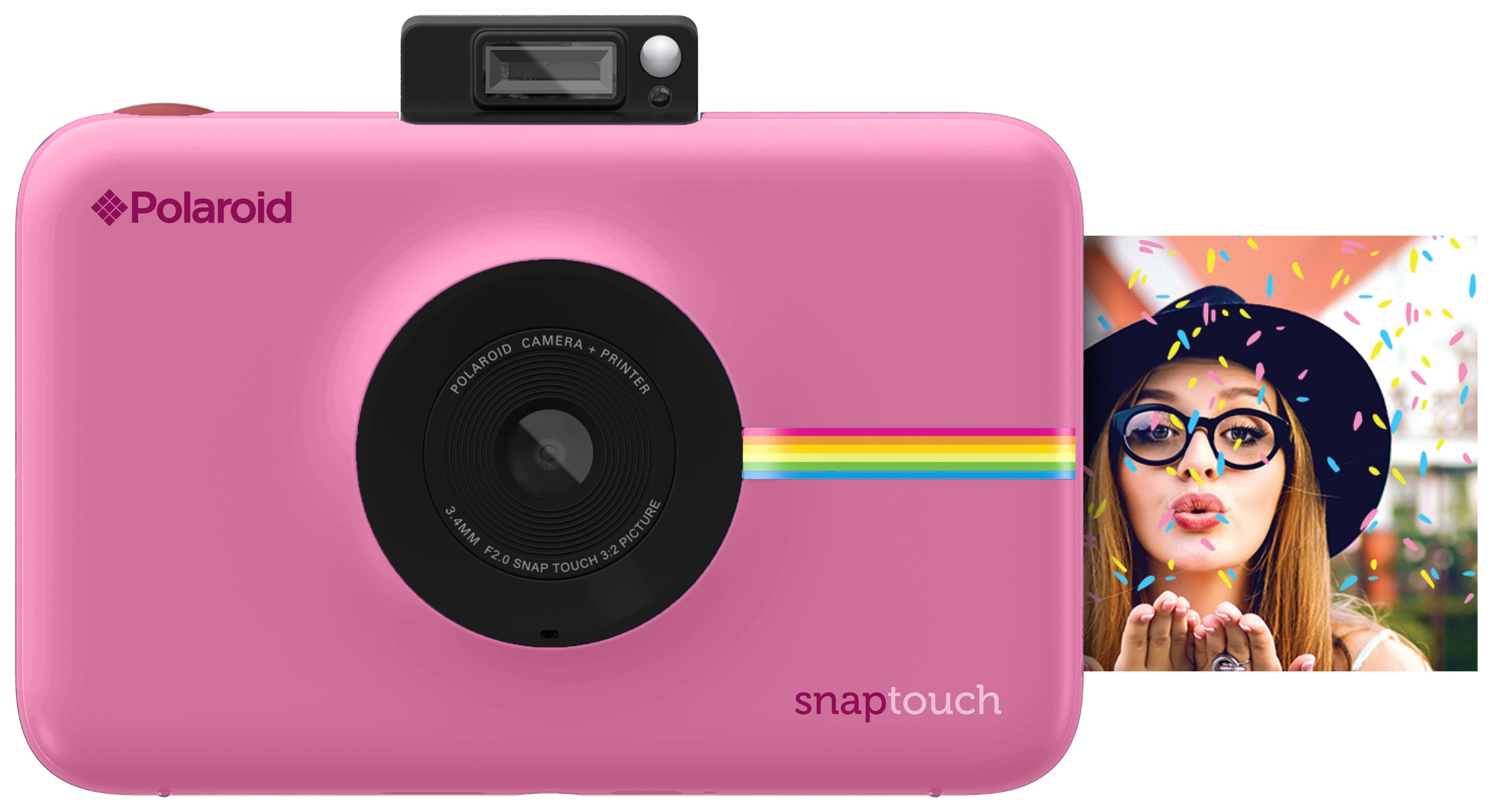 Polaroid Snap Touch Camera - Pink.